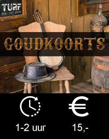 Goudkoorts button